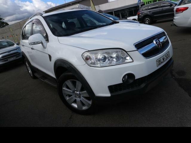 Used Holden Captiva CG MY10 LX (4x4) Kingswood, 2009 Holden Captiva CG MY10 LX (4x4) White 5 Speed Automatic Wagon