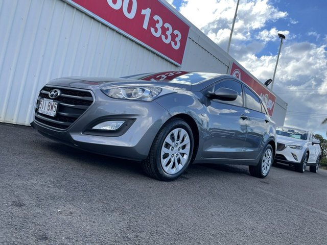 Used Hyundai i30 GD4 Series II MY17 Active Bundaberg, 2016 Hyundai i30 GD4 Series II MY17 Active Grey 6 Speed Sports Automatic Hatchback