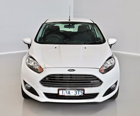 2014 Ford Fiesta WZ Trend PwrShift White 6 Speed Sports Automatic Dual Clutch Hatchback.