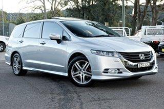 2011 Honda Odyssey 4th Gen MY11 Luxury Silver 5 Speed Sports Automatic Wagon.