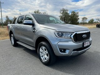 2021 Ford Ranger PX MkIII 2021.25MY XLT Aluminium Silver 6 Speed Sports Automatic Double Cab Pick Up.