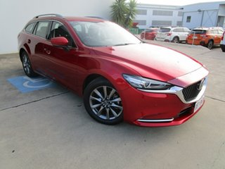 2019 Mazda 6 GL1032 Touring SKYACTIV-Drive Red 6 Speed Sports Automatic Wagon.