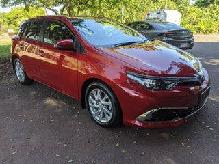 2018 Toyota Corolla ZRE182R Ascent Sport S-CVT Red 7 Speed Constant Variable Hatchback.
