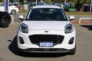 2020 Ford Puma JK 2020.75MY Puma White 7 Speed Sports Automatic Dual Clutch Wagon.