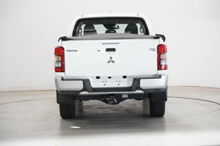 2019 Mitsubishi Triton MR MY20 GLX+ Double Cab White 6 Speed Sports Automatic Utility