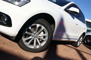 2013 Audi Q5 8R MY13 2.0 TDI Quattro White 7 Speed Auto Dual Clutch Wagon.