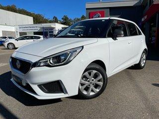 2018 MG MG3 SZP1 MY18 Core White 4 Speed Automatic Hatchback.