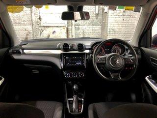 2019 Suzuki Swift AZ GLX Turbo Red 6 Speed Sports Automatic Hatchback