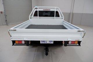 2012 Isuzu D-MAX MY12 LS Crew Cab 4x2 High Ride White 5 Speed Manual Utility
