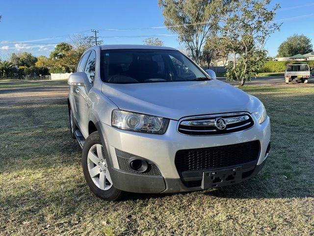Used Holden Captiva CG MY13 7 SX Moree, 2013 Holden Captiva CG MY13 7 SX Silver 6 Speed Sports Automatic Wagon