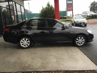 2010 Holden Epica EP MY10 CDX Black 6 Speed Automatic Sedan