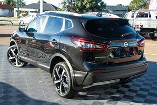 2021 Nissan Qashqai J11 Series 3 MY20 Ti X-tronic Pearl Black 1 Speed Constant Variable Wagon