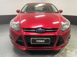 2013 Ford Focus LW MkII Sport Burgundy 5 Speed Manual Hatchback.