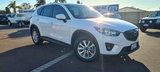 2013 Mazda CX-5 KE1031 MY13 Maxx SKYACTIV-Drive AWD Sport Pearl White 6 Speed Sports Automatic Wagon.