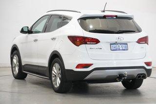 2017 Hyundai Santa Fe DM3 MY17 Elite White 6 Speed Sports Automatic Wagon