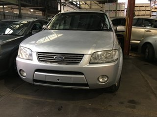 2004 Ford Territory SX Ghia AWD Silent Silver 4 Speed Sports Automatic Wagon.