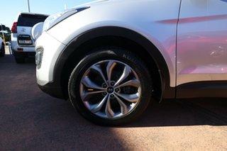 2014 Hyundai Santa Fe DM Highlander CRDi (4x4) Silver 6 Speed Automatic Wagon.
