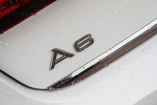 2016 Audi A6 4G MY16 S Line S Tronic White 7 Speed Sports Automatic Dual Clutch Sedan.