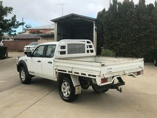 2008 Ford Ranger PJ XL Crew Cab White 5 Speed Manual Cab Chassis