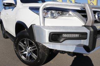 2018 Toyota Fortuner GUN156R GX Glacier White 6 Speed Automatic Wagon.