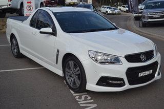 2013 Holden Ute VF MY14 SV6 Ute White 6 Speed Sports Automatic Utility.