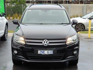 2013 Volkswagen Tiguan 5N MY13.5 132TSI DSG 4MOTION Pacific Black 7 Speed.