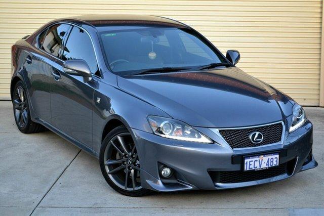 Used Lexus IS GSE20R MY13 IS250 F Sport Mount Lawley, 2013 Lexus IS GSE20R MY13 IS250 F Sport Grey 6 Speed Sports Automatic Sedan
