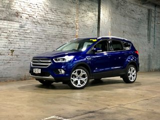 2017 Ford Escape ZG Titanium Blue 6 Speed Sports Automatic SUV.