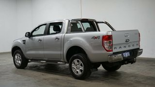 2014 Ford Ranger PX XLT Double Cab Silver 6 Speed Sports Automatic Utility.
