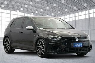 2017 Volkswagen Golf 7.5 MY18 R DSG 4MOTION Black 7 Speed Sports Automatic Dual Clutch Hatchback.