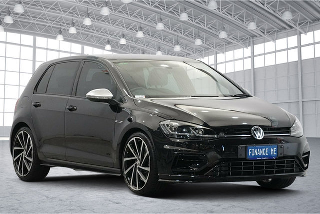 Used Volkswagen Golf 7.5 MY18 R DSG 4MOTION Victoria Park, 2017 Volkswagen Golf 7.5 MY18 R DSG 4MOTION Black 7 Speed Sports Automatic Dual Clutch Hatchback