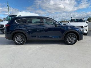 2020 Mazda CX-8 KG2WLA Touring SKYACTIV-Drive FWD Blue 6 Speed Sports Automatic Wagon.