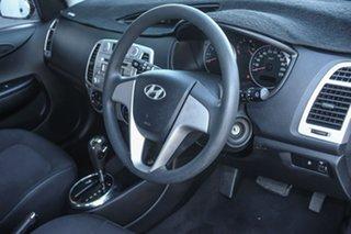2011 Hyundai i20 PB MY12 Active Silver 4 Speed Automatic Hatchback
