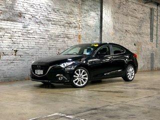 2014 Mazda 3 BM5238 SP25 SKYACTIV-Drive Black 6 Speed Sports Automatic Sedan.