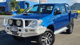 2010 Toyota Hilux KUN26R MY10 SR Blue 5 Speed Manual Cab Chassis.