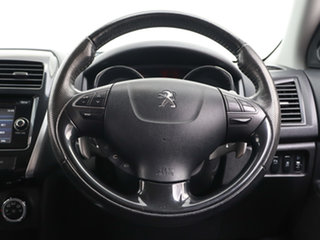 2014 Peugeot 4008 MY14 Upgrade Active (4x2) White 6 Speed CVT Auto Sequential Wagon