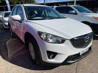 2012 Mazda CX-5 KE1071 Maxx SKYACTIV-Drive AWD Sport White 6 Speed Sports Automatic Wagon.
