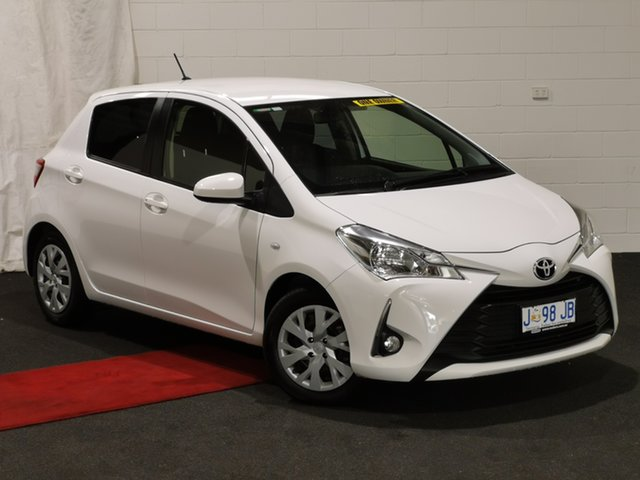 Used Toyota Yaris NCP131R SX Glenorchy, 2017 Toyota Yaris NCP131R SX Glacier 4 Speed Automatic Hatchback