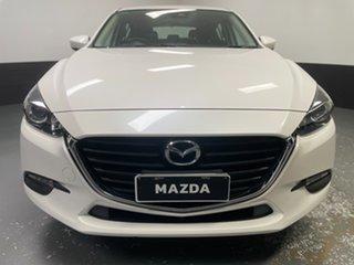 2018 Mazda 3 BN5478 Neo SKYACTIV-Drive Sport White 6 Speed Sports Automatic Hatchback.