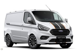 2020 Ford Transit Custom VN 2021.25MY 320S (Low Roof) Sport White 6 Speed Automatic Van.