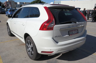 2014 Volvo XC60 DZ MY14 D4 Geartronic Kinetic White 8 Speed Sports Automatic Wagon