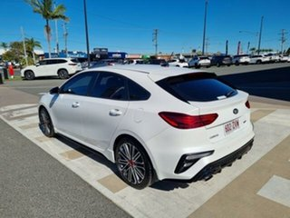 2019 Kia Cerato BD MY20 GT Safety Pack White 7 Speed Auto Dual Clutch Hatchback
