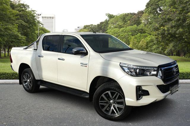 Used Toyota Hilux GUN126R SR5 Double Cab Paradise, 2018 Toyota Hilux GUN126R SR5 Double Cab White 6 Speed Sports Automatic Utility