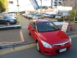 2009 Hyundai i30 FD MY09 SX Active Red 4 Speed Automatic Hatchback.