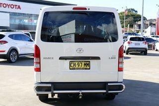 2017 Toyota HiAce TRH201R LWB French Vanilla 6 Speed Automatic Van