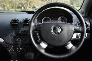 2009 Holden Barina TK MY09 White 4 Speed Automatic Sedan