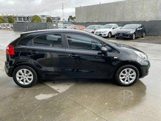 2013 Kia Rio UB MY13 S Black 4 Speed Sports Automatic Hatchback