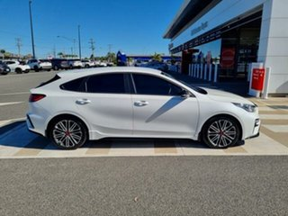 2019 Kia Cerato BD MY20 GT Safety Pack White 7 Speed Auto Dual Clutch Hatchback.