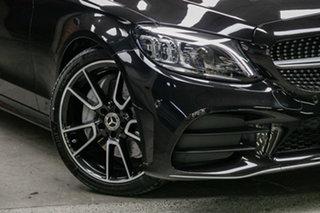 2020 Mercedes-Benz C-Class W205 800+050MY C300 9G-Tronic Obsidian Black Metallic 9 Speed.