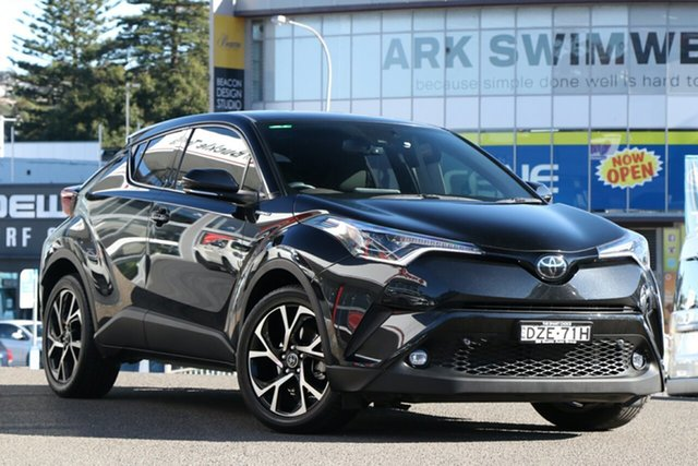 Pre-Owned Toyota C-HR NGX10R Koba S-CVT 2WD Brookvale, 2018 Toyota C-HR NGX10R Koba S-CVT 2WD Graphite 7 Speed Constant Variable Wagon